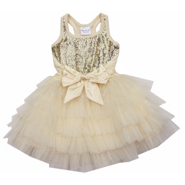Ooh La La Couture Anneliese Dress - Champagne
