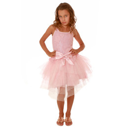 Ooh La La Couture Ava Dress - Pink Parfait