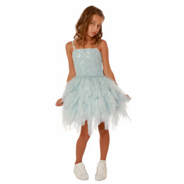Ooh La La Couture Emma Dress - Sky Blue