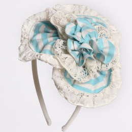 Isobella & Chloe Little Grace Headband - Blue