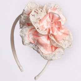 Isobella & Chloe Little Grace Headband - Pink