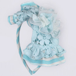Isobella & Chloe June Bug Headband - Light Blue