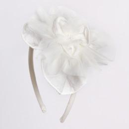 Isobella & Chloe Mia Headband - White