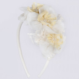 Isobella & Chloe Marigolds Headband - Yellow