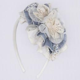 Isobella & Chloe Annabelle Headband - Blue