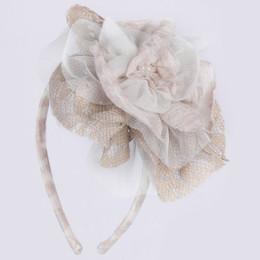 Isobella & Chloe Latte Love Headband - Taupe