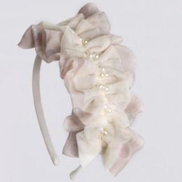 Isobella & Chloe Glitter Headband - Taupe