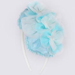 Isobella & Chloe Precious Blue Headband - Teal