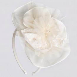 Isobella & Chloe Pearl Headband - Ivory
