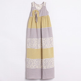 Isobella & Chloe Sunshine Twist Maxi Dress - Yellow