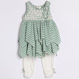 Isobella & Chloe Olivia 2pc Set - Green