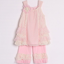 Isobella & Chloe Pink Lemonade 2pc Set - Pink