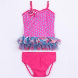 Isobella & Chloe Candilicious 2pc Tankini Swimsuit - Magenta
