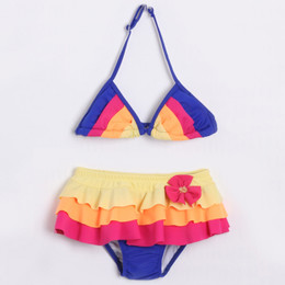 Isobella & Chloe Beach Butterfly 2pc Skirted Bikini Swimsuit - Multi