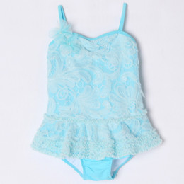 Isobella & Chloe Sea Breeze 1pc Skirted Tank Swimsuit - Teal