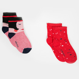 Catimini Paris Est Une Fete Graphic City Socks - 2 pairs