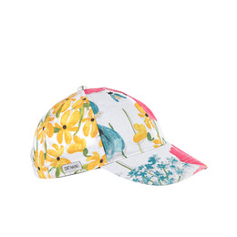 Catimini Happy Days Graphic Floral Baseball Hat