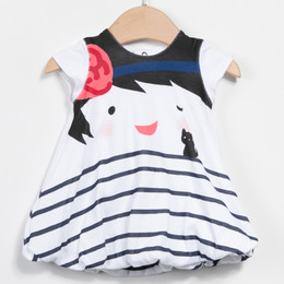 Catimini Paris En Fete Graphic City Fille Bubble Dress