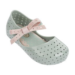 Mini Melissa Furadinha Shoes - Baby Green