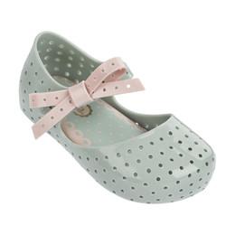 Mini Melissa Furadinha Shoes - Baby Green