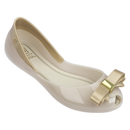 Mel By Melissa Queen III Shoes - White / Milk