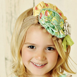 Mustard Pie Andalusia Colette Headband - Beige