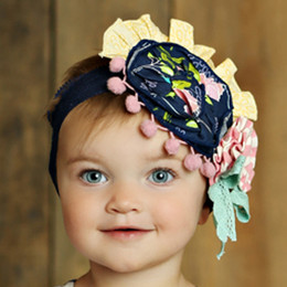Mustard Pie Secret Garden Colette Headband
