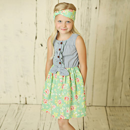 Mustard Pie Andalusia Blossom Dress