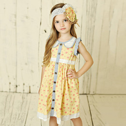 Mustard Pie Andalusia Gretta Dress