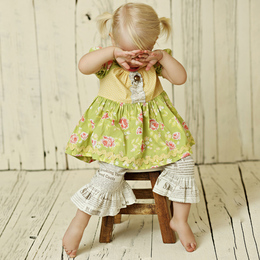 Mustard Pie Andalusia Baby Lola Set