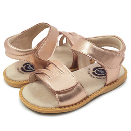 Livie & Luca Athena Sandals - Rose Gold Metallic