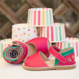 Livie & Luca Kea Sandals - Hot Pink