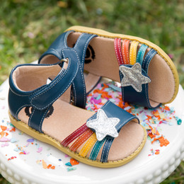 Livie & Luca Nova Sandals - Ocean Blue