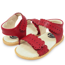Livie & Luca Posey Sandals - Red