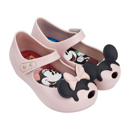 Mini Melissa Ultragirl Disney Twins II Shoes - Pink