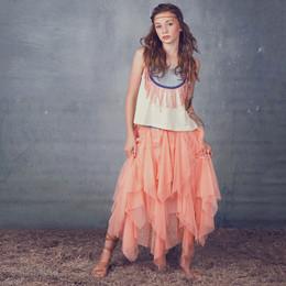 Jak & Peppar Starlight Wanderer Ballet Maxi - Tangerine (Del 2)