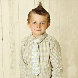 Mustard Pie Seaside Summer Boy's Neck Tie