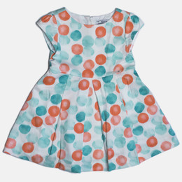 Mayoral Dots Dress - Lake