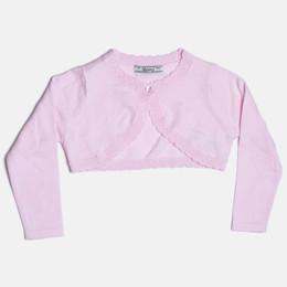 Mayoral Knitted Cardigan Sweater - Orchid Pink