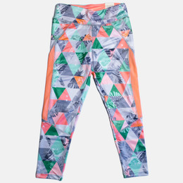 Mayoral Activewear Printed Leggings - Neon Nectre