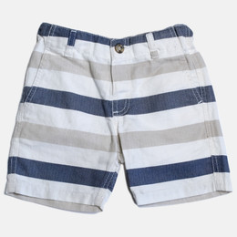 Mayoral Striped Linen Short - Multi