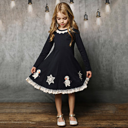 Lemon Loves Lime Build A Snowman Dress - Sky Captain