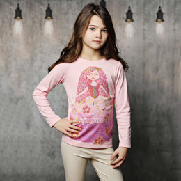 Lemon Loves Lime Unicorn Princess Tee - Rose Shadow