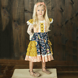 Mustard Pie Jeweled Forest Ashton Dress (*Top Sold Separately*)