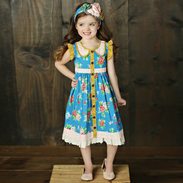 Mustard Pie Picnic Lunch Gretta Dress