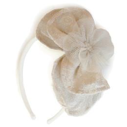 Isobella & Chloe Ivory Palace Headband