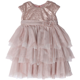 Isobella & Chloe Sophie Empire Waist Tiered Dress
