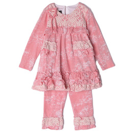 Isobella & Chloe Sugar Poppy 2pc Tunic & Legging Set