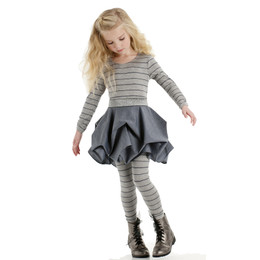 Biscotti Delovely 2pc Dress & Legging Set Grey