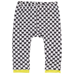 Deux Par Deux Chit Chat Geometric Print Leggings